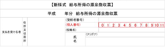 新様式 源泉徴収票